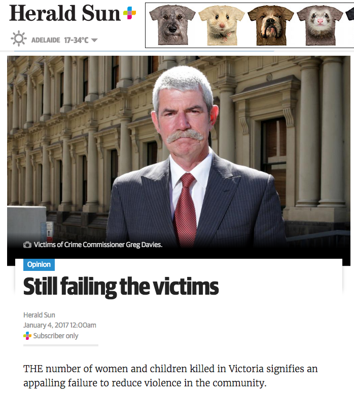 Herald Sun: Still failing the victims